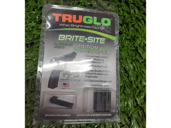 ALZA Y GUION TRUGLO P/ GLOCK 17 - 19 TRITIUM / F. OPTICA 76049046 - TRUGLO
