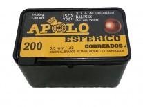 BALIN APOLO 5,5 ESFERICO COBREADO x 200 - 19961