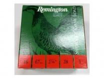 CARTUCHO REMINGTON C. 16 28 GR M 6 - 20504