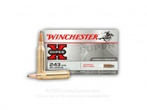 MUNICION C. 243 WINCHESTER 80 GR - X2431