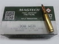 MUNICION C. 308 MAGTECH 150 GR SP x 50