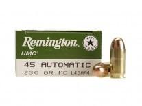 MUNICION C. 45 ACP REMINGTON UMC L45AP4 230 GR x 50 - 23691