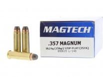 MUNICION C. 357 MAG MAGTECH 158 GR SJSP 357A
