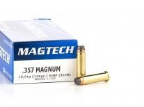 MUNICION C. 357 MAG MAGTECH SJHP 357B